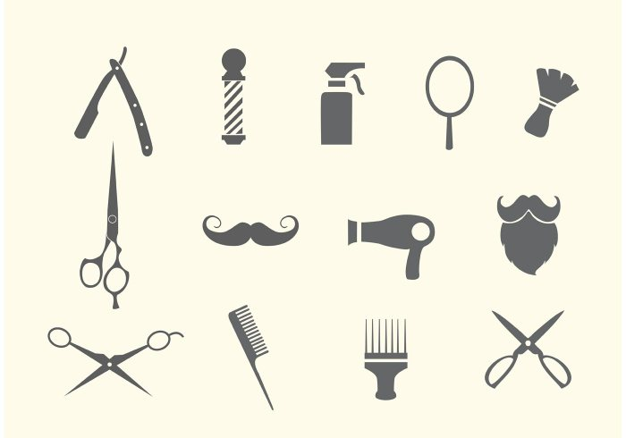 barber-shop-and-salon-vectors